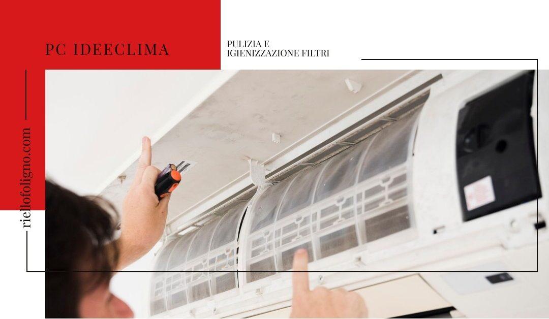 Pulizia e igienizzazione filtri climatizzatore
